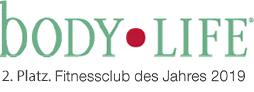 Body Life: 2. Platz Fitness-Club des Jahres 2019