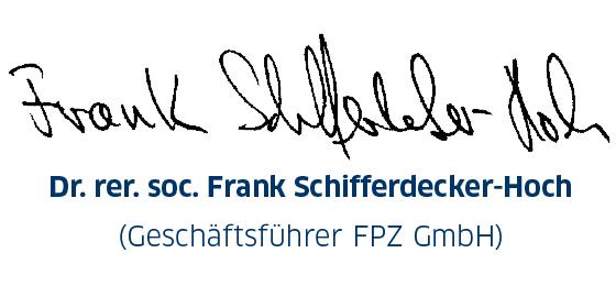Unterschrift Urkunde